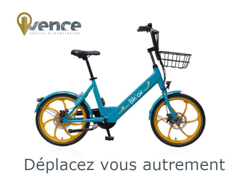 La ville de Vence favorise la mobilité douce