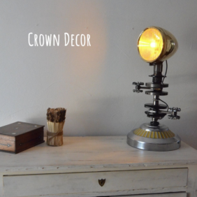 Lampe Crown Décor