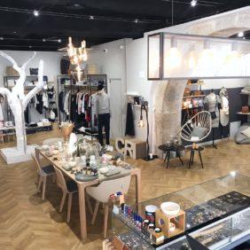 Boutique aux allures d'appartement design