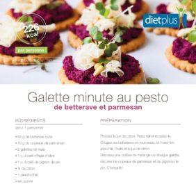 Exemple de recette apéritif Dietplus