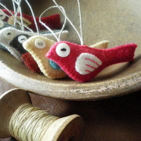 Oiseaux laine