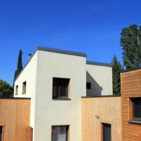 Fausses jumelles - maisons bois
