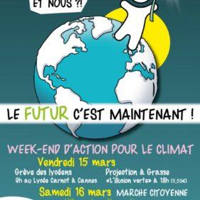 Création de l'affiche des actions pour le Climat