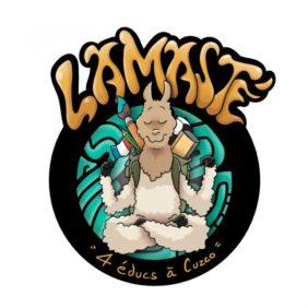 Un logo illustré pour le groupe Lamasté !