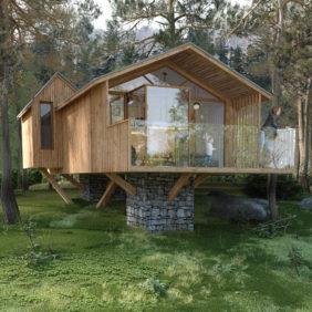 Cabane en forêt - Le Boréon