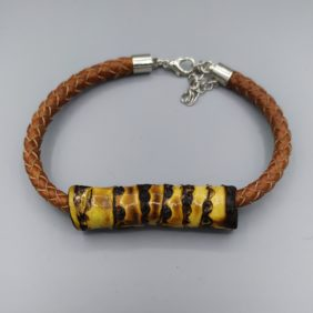 Bracelet | Bamboo et Cuir