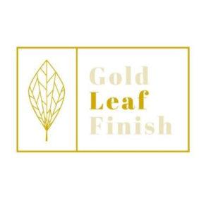 Gold Leaf Finish