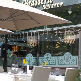 La Régence café vue terrasse