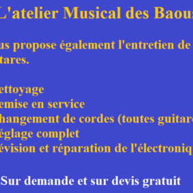 Atelier Musical des Baous