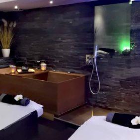 Cabine Duo massages et soins corps et visage
