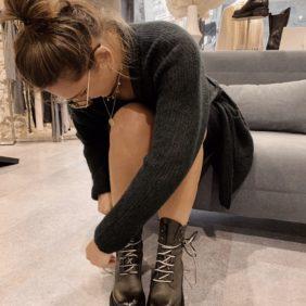 Boots Métisse en cuir